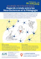 Journée Petite Enfance : regards croisés entre les Neurosciences et la Pédagogie