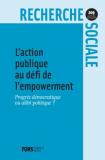 L'action publique au défi de l'empowerment
