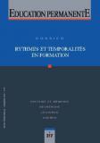 Rythmes et temporalités en formation