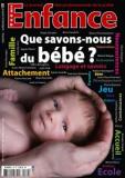 Que savons-nous du bébé ?