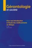 Pour une introduction à l'étude des vieillissements en Afrique