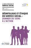 Déontologie et éthique en service social