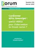 Les acteurs de l'intervention sociale face aux défis du renforcement de leurs identités et de leurs collectifs de travail