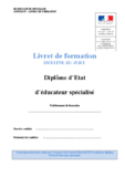 Annexe IV Livret de formation - application/pdf