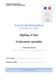 Annexe IV Livret de formation - application/pdf