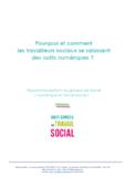 Pourquoi et comment les travailleurs sociaux se saisissent des outils numériques ?  - application/pdf