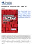 Sommaire du Rapport sur les inégalités en France. 2019 - application/pdf